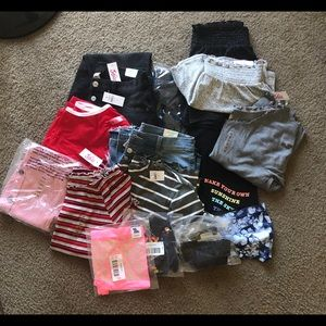 NWT girls Justice clothing lot sizes 18-20 plus